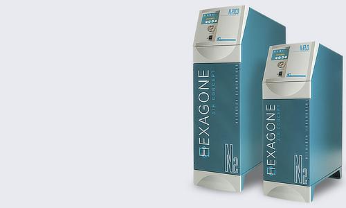 Hexagone Air Concept, Azote acessoires