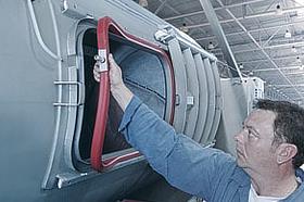 Europress démontage facile / nettoyage du join de porte