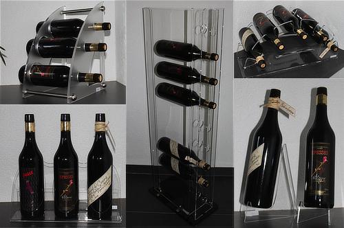 supports à bouteilles